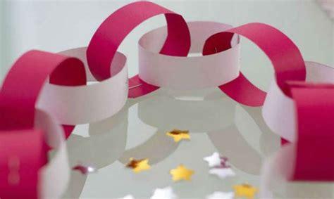 como se hacen cadenas de papel crepe 40 guirnaldas originales recicladas 191 c 243 mo hacer las