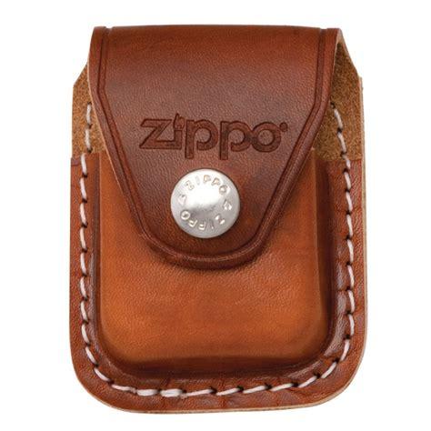 Zaskia Zippo Free Belt brown lighter pouch clip official zippo shop uk