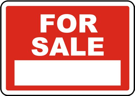 for sale sign r5509 by safetysign