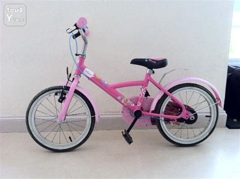 bicycle decathlon velo fille 16 pouces