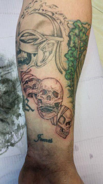 echo tattoo edmonton no evil skulls by echo tattooz on deviantart