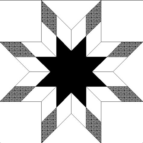 Black And White Quilt Block Patterns by Free Quilt Block Clip Page 4 Black White Clipart