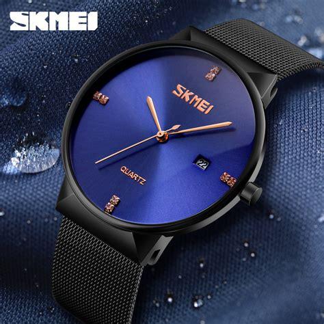 Jam Tangan Nixon Silver skmei jam tangan analog pria stainless steel 9164 silver jakartanotebook