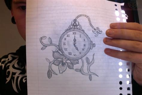 tattoo designs of clocks clock images designs