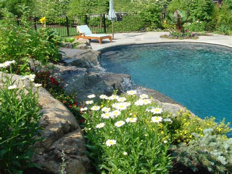 landscape ideas around pool swimming pool furniture landscaping around pool ideas