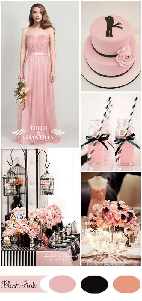 7 Gorgeous Blushes by Five Gorgeous Pink Wedding Color Ideas And Bridesmaid
