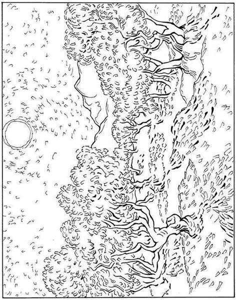van gogh coloring pages pdf sunflower coloring page van gogh