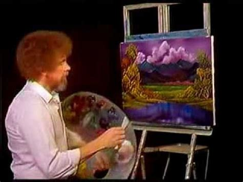 pbs bob ross painting auction bob ross painting tranquil valley pbs