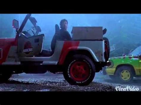 Jurassic Park Deleted Scene Jeep Chase Youtube