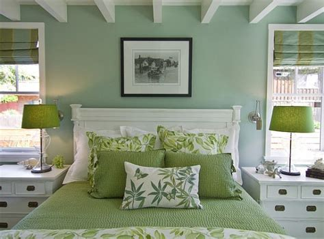 Green Bedroom Ideas Decorating | green design ideas for your home decorating with green