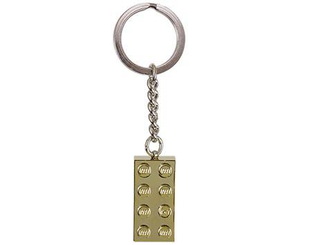 lego 174 gold 2x4 stud key chain lego shop