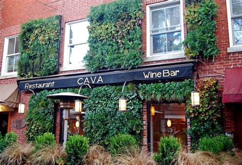Vertical Garden Restaurant Portsmouth Meets Spain At Cava Traditional And Modern