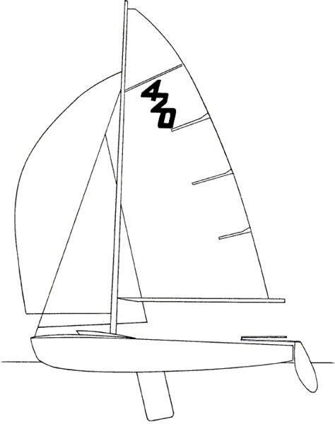 how to draw a optimist boat histoire de lanaverre l17 lanaverre 17 quot punt aan de