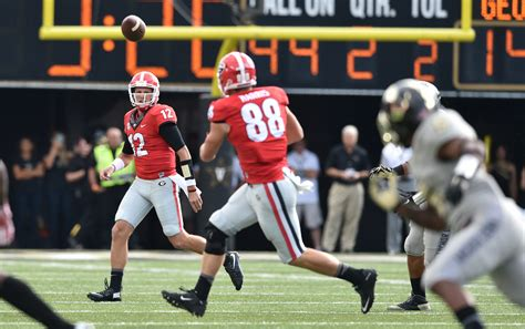 Uga Finder Photos Uga Uses Explosive Plays To Grab Win Vanderbilt