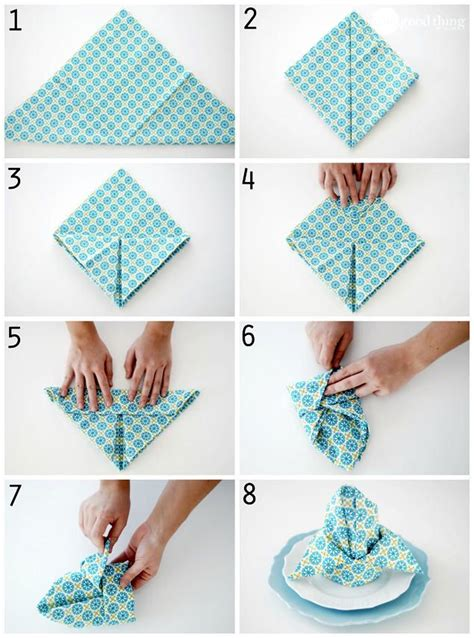 Paper Napkin Folding Styles - 25 b 228 sta stugstil id 233 erna p 229 stuga havsglas