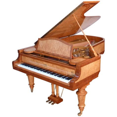 Handmade Piano - handmade german high end grand piano birch burl or yew