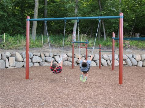 playground with swings playground at spring meadows is complete nih