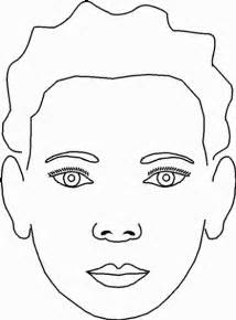 face paint colouring pages