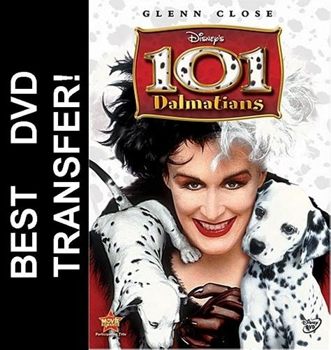 all in 101 real 1633934640 101 dalmatians dvd 1996 glenn close 7 99 buy now raredvds biz