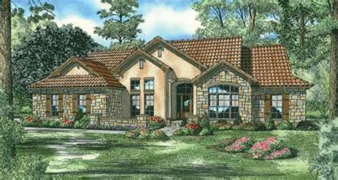 One Story Tuscan House Plans by Tuscan House Plan 4 Bedrooms 3 Bath 2075 Sq Ft Plan 12 886