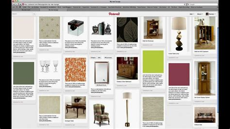 create  interior design mood board  pinterest