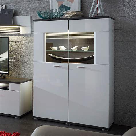 Schrank Weiß Hochglanz by Wohnzimmer Design Wandgestaltung