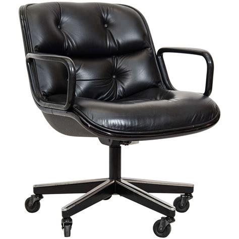 charles pollock executive desk chair for knoll