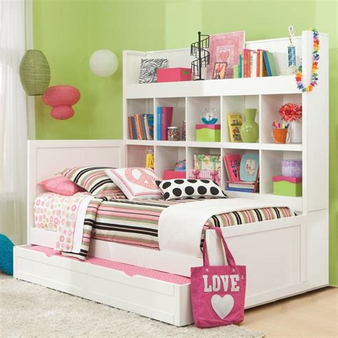 girls bed with drawers girls trundle beds with storage drawers white trundle bed