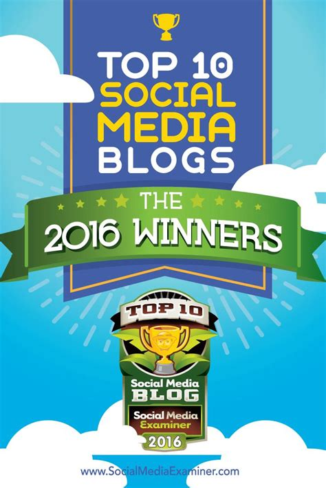 8 best social media caigns top 10 social media blogs the 2016 winners social