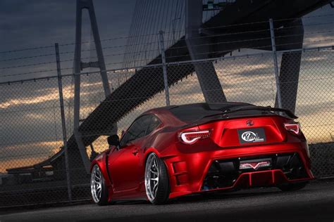 widebody toyota widebody toyota 86 by kuhl bow to its japanese tuning