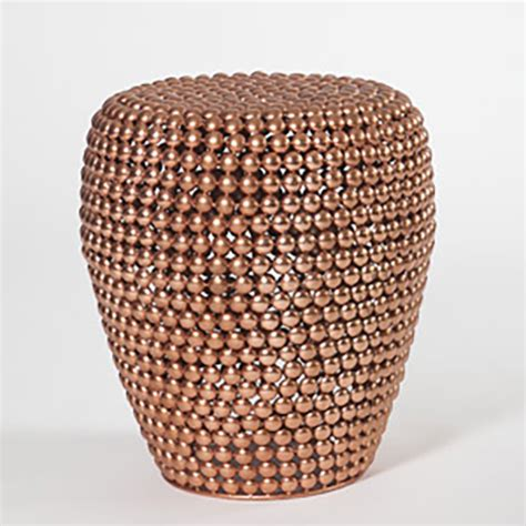 Dot Copper Stool by Dot Stool Copper ドットスツール Pols Potten