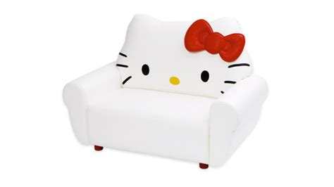 hello kitty sofa chair there s a new hello kitty sofa it costs over 2 000
