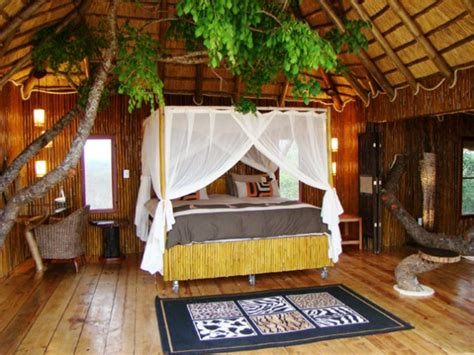 bedroom luxury treehouse  south africa limpopo