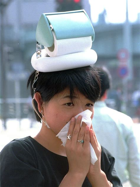 toilet paper on head invention chindogu the most ingenious and useless inventions in the