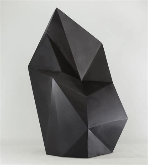 amazing geometric forms sculpted with sand my modern met geometric sculptures by axel brechensbauer the fox is black