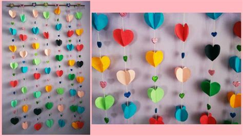 How To Make Hanging With Paper - how to make easy paper wall hanging