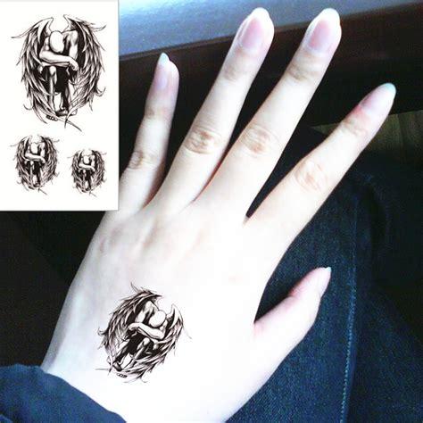 Hand Tattoo Aufkleber by Online Kaufen Gro 223 Handel M 228 Nnlichen Body Art Tattoo Aus