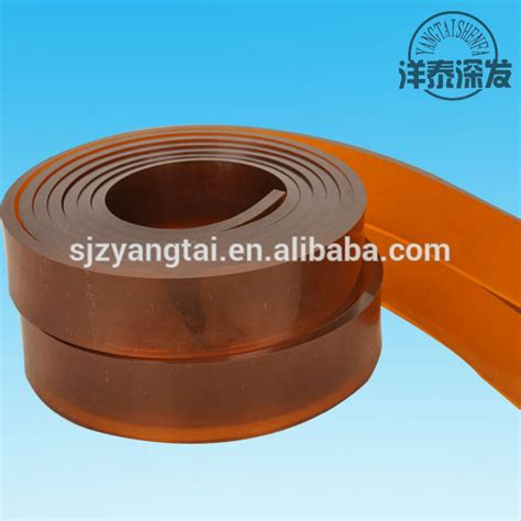 handled squeegee for solar panels 50 95duro high solvent solar panel screen printing rubber