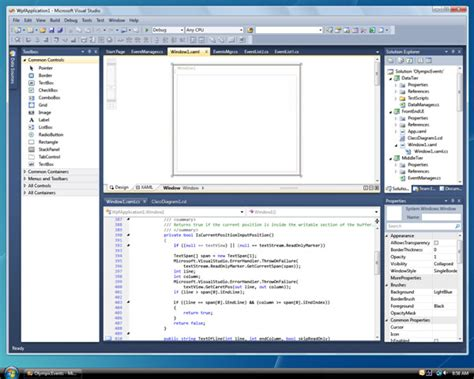 design web form in visual studio 2010 microsoft removes the blinders from the front end of vs 2010