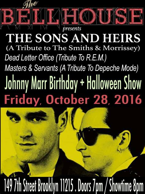 Rem Dead Letter Office by The Sons Heirs Nyc Show W Depeche Mode And