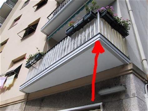 terrazzo aggettante propriet 224 balconi aggettanti sentenza illuminante della