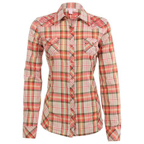 sleeve plaid print shirt up s sleeve plaid print western shirt