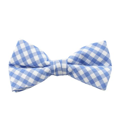 light blue gingham bow tie absolute ties