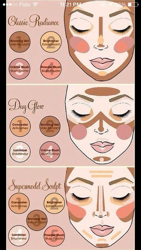 7 Ways To Your Makeup Skills by Different Ways To Contour Your Step By Step Trusper