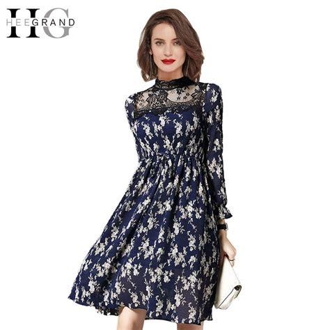 Dress Rk Petal H aliexpress buy hee grand 2017 autumn new lace stand collar dress petal sleeve
