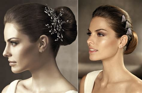 Vintage Wedding Hairstyles 2012 by 2012 Wedding Hair Accessories Bridal Hairstyles Pronovias
