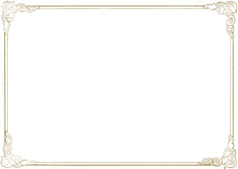 png designs frame gold   icons  png backgrounds