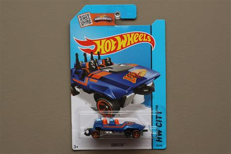 Wheels Hotwheels Loopster wheels 2015 hw city loopster blue variation
