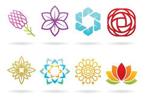 logo vector flower logos free vector stock graphics