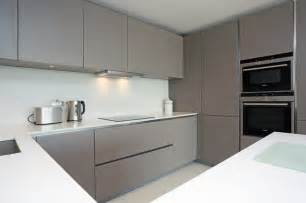 Modern Grey Kitchen Cabinets Basalt Grey Kitchen Finish Modern Kitchen By Lwk Kitchens